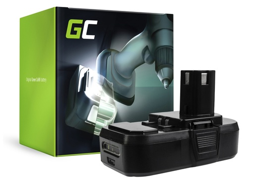 [GCL.PT192] Green Cell Power Tool Battery ONE+ RB18L50 RB18L15 RYOBI R18AG0 R18JS0 R18PDBL RCD18022L RID1801M RMT1801M
