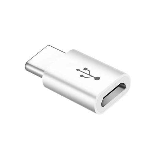 [MSM.AD94] Adapter sa micro (zenski) na type C (muski) beli