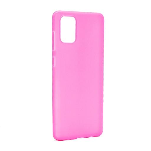 [MSM.F84476] Futrola ULTRA TANKI KOLOR za Samsung A715F Galaxy A71 roze
