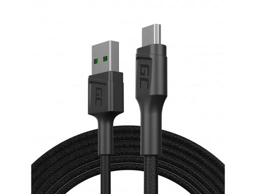 [GCL.KABGC17] Kabl Green Cell GC PoverStream USB-A - mikro USB 200 cm Ultra punjenje, KC 3.0