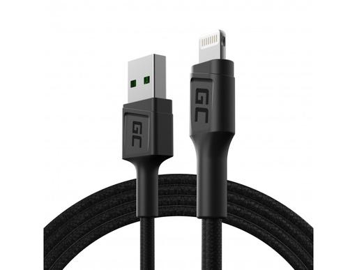 [GCL.KABGC21] Kabl Green Cell GC PoverStream USB-A - Lightning 120cm brzo punjenje Apple 2.4A