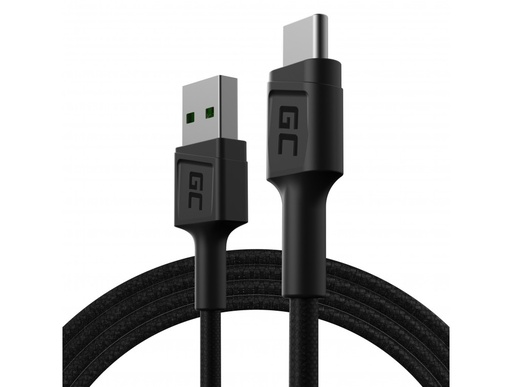 [GCL.KABGC22] Kabl Green Cell GC PoverStream USB-A - USB-C 120 cm Ultra punjenje, KC 3.0