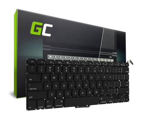 [GCL.KB139UKV2] Keyboard for Laptop Apple MacBook Pro 13 Unibody A1278 2009-2012 (QWERTY US small Enter)