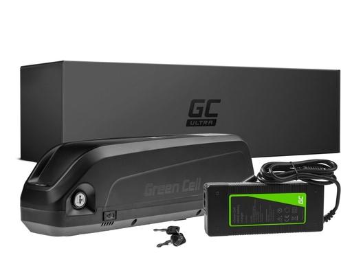 [GCL.EBIKE49U] Green Cell® ULTRA Battery Electric bike 48V 17Ah E-Bike Panasonic Down Tube with charger