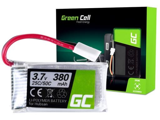 [GCL.RC09] Green Cell RC Battery for Hubsan H107 H107C H107CHD H107L 3.7V 380mAh
