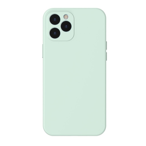 [HRT.64087] Baseus Liquid Silica Gel futrola za iPhone 12 Pro mint