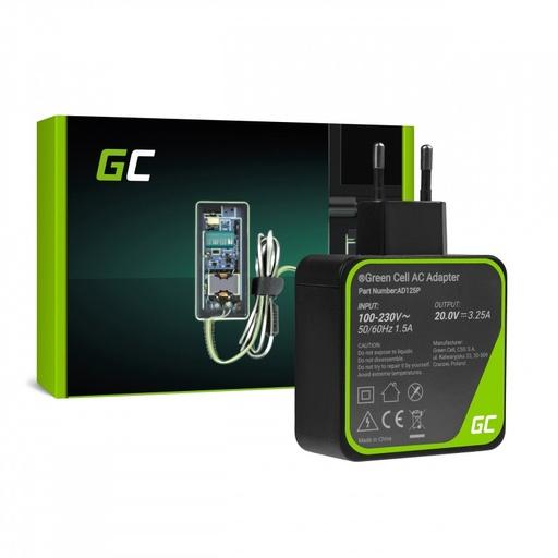 [GCL.AD125P] Punjač / adapter za naizmeničnu struju Green Cell PRO 20V 3.25A 65W za Lenovo Yoga 4 Pro 700-14ISK 900-13ISK