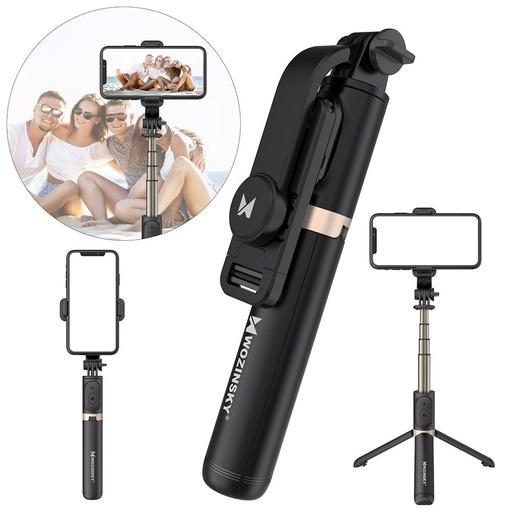 [HRT.63499] Wozinsky Bluetooth daljinski selfie štapić crni