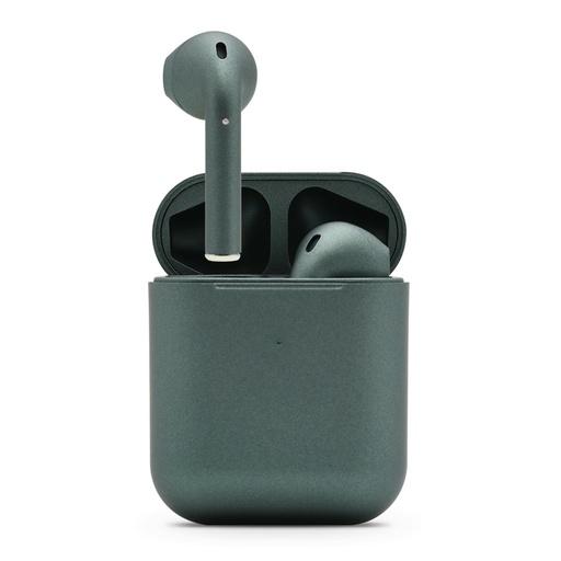 [MSM.SL1029] Slušalice Bluetooth Airpods Inpods 900 metalic tamno zelene