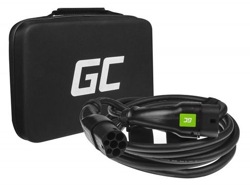 [GCL.EV06] ZELENA ĆELIJA GCev¹ kabel tip 2 za punjenje električnih automobila (7m, 7,2kW, 32A, jednofazni)