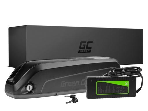 [GCL.EBIKE47U] ZELENA CELICA Ultra® E-bicikl Akku 36V 17Ah Li-Ion dolje cijevni akumulatori sa Ladegerät-om