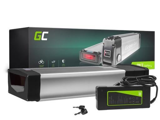 [GCL.EBIKE69STD] Green Cell® E-Bike Akku 48V 20Ah E-Bike Li-Ion Rear Rack Batterie mit Ladegerät