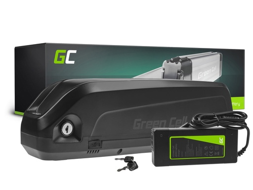 [GCL.EBIKE66STD] Green Cell® E-Bike Battery 48V 10.4Ah Li-Ion Down Tube with Charger