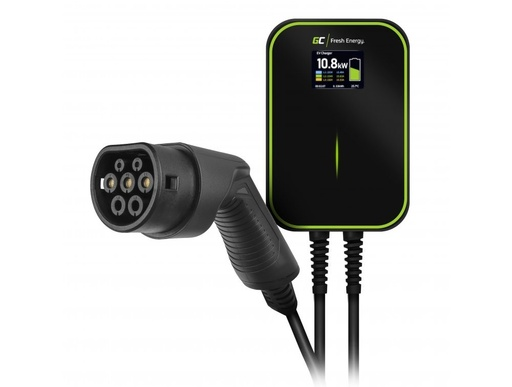 [GCL.EV14] Wallbox GC EV PowerBox 22kW charger with Type 2 cable for charging electric cars and Plug-In hybrids