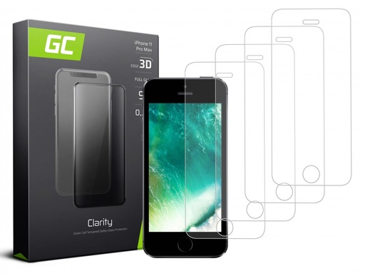 [GCL.GLSET25] 4x Screen protection GC Clarity for iPhone 5 / 5S / 5C / SE