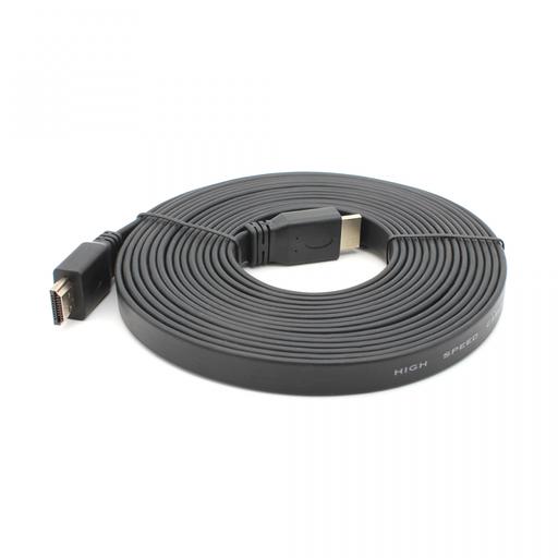 [3GC.74323] Kabl Flet HDMI na HDMI ccs 5m JWD-HDMI6