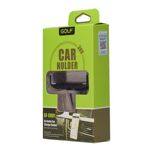 [3GC49958] Držač za ventilaciju Golf GF-CH01 crno-sivi