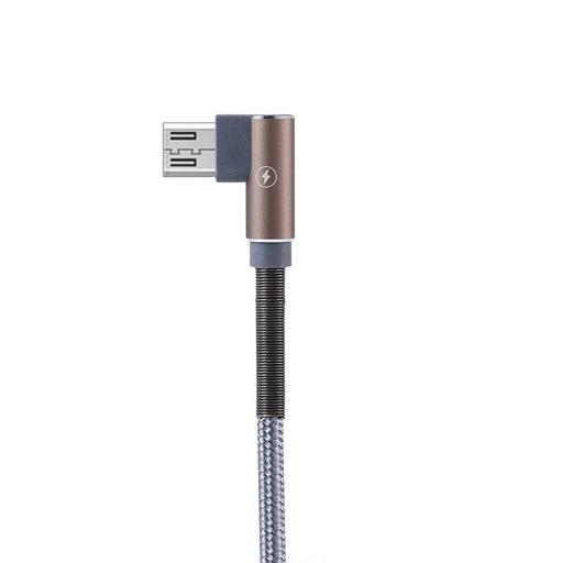 [3GC64572] Data kabl Remax Ranger RC-119m micro USB sivi 1m