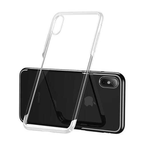 [3GC64321] Futrola Baseus Glitter za iPhone XS bela