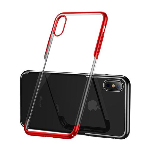 [3GC64345] Futrola Baseus Glitter za iPhone XS MAX crvena